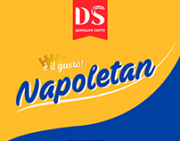 New cookie and packaging NAPOLETAN