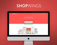 Shopwings desktop redesign