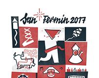 San Fermín 2017 Contest t-shirt