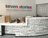 Seven Stories - Reception Desk