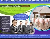 Tax Return Service in Markham Canada | 8559107234 | rcf