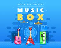 Media App Concept