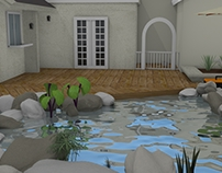 3D Material House