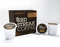 3rd Streak Coffee Branding