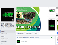 Redes Sociales - Club Esportiu INEF Barcelona - 2012