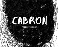 "FREE FONT "" CABRON"""