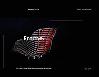Frame. design concept