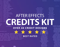Film Credits Kit for After Effects
