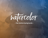 Watercolor Backgrounds Freebie