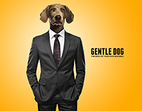 """GENTLE DOG """"The Boss Of Your Own Business."""""""