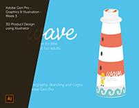 Adobe Generation Pro - Graphics & Illustration - Week 3
