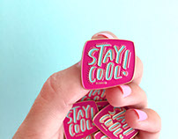 The Stay Cool Pin