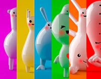 Familia  feliz :) Art Toys