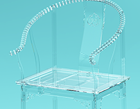Transparent Ming Chair 透明圈椅