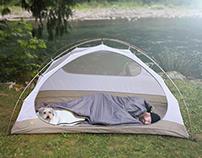 BarkerBag Dog Sleeping Bag