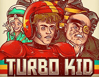 Turbo Kid Fan Art Poster.