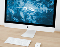 Pure Production - Web Design