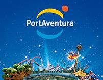 Port Aventura Website & online elements