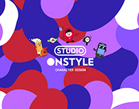 CJ E&M ONSTYLE Character Design