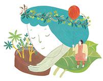 信望愛智能發展中心 環保包 illustration
