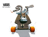 "Vans Ad Concept ""Snake and Skate"""