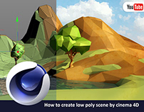 Cinema 4D- How to Create Low Poly