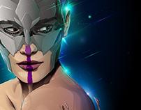 kosmik - Illustrator CC