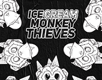 ICE CREAM MONKEY THIEVES BRANDING