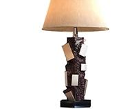 3d model of martens table lamp