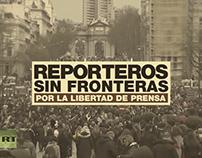 Reporteros Sin Fronteras // Métodos de otra época