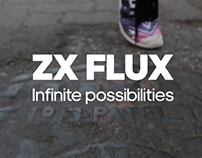 Adidas ZX Flux [title animations]