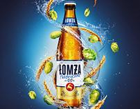 Lomza Beers Splash renderings