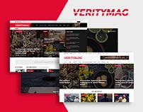VerityMag - News & Magazine PSD Template