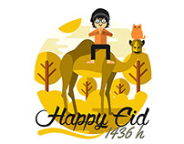 HAPPY EID 1436H