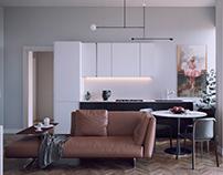 Apartment design - Milano