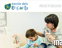 Escola dels Encants | website design & development