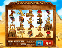 "Slot machine - ""Lucky sphinx"""