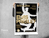 Gold ink, concert poster & complete visual ID