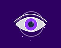 Purple Eye Motion Graphics