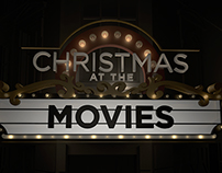 Christmas At The Movies - Design Process