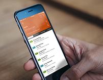 Delivery.com App UI Study