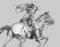 Turkuman horse archer
