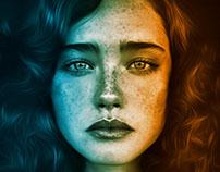 Portrait - Photoshop Manipulation