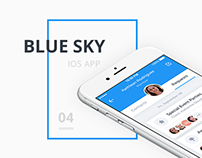 Blue Sky - Mobile Task Tracking System (iOS App)
