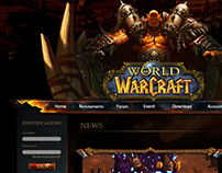 Website of a WoW Clan
