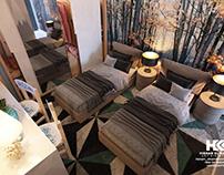 Double Boy Bedroom Interior Design