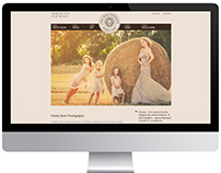 Website for Family Book Photography