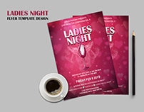 Ladies Night Flyer Template Design