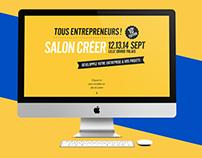 Salon Créer 2016 | site web
