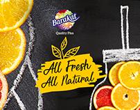 Barakat Quality Plus Juice Social Media Posts